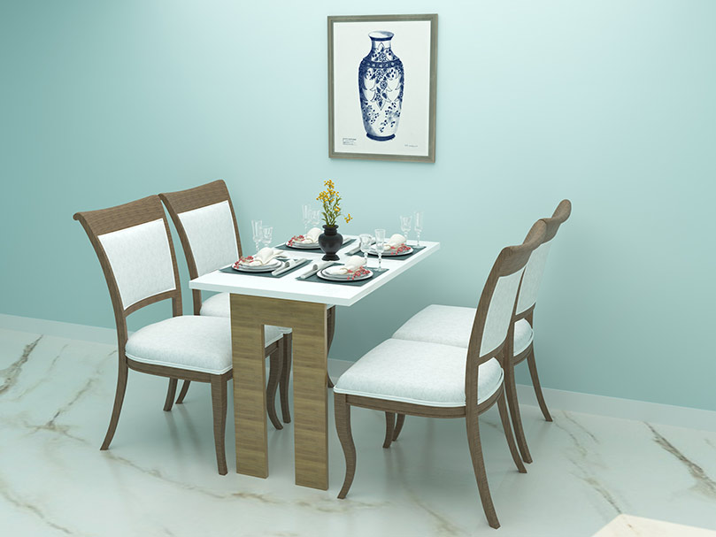 Wall Mounted Dining Table | Folding, Attached, Hanging ...