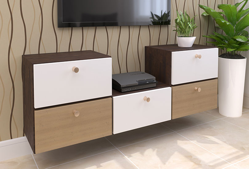 TV Stand Showcase, Shelf, Cupboard, Wall Unit, Rack Wooden Design | TV Cabinet Design for Hall, Living Room, Bedroom | Best Low Price Offers |Kamothe, Panvel, Navi Mumbai